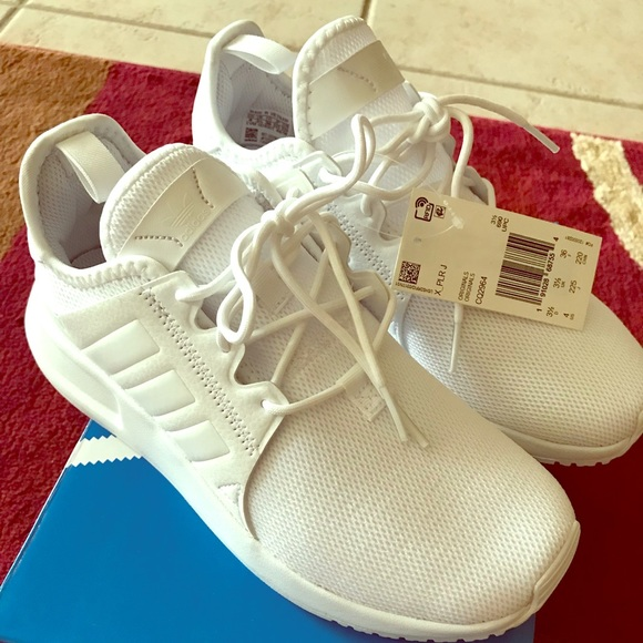 sale retailer 1dc80 60bf4 ADIDAS X PLR Boys Shoes White Size 4 NWT